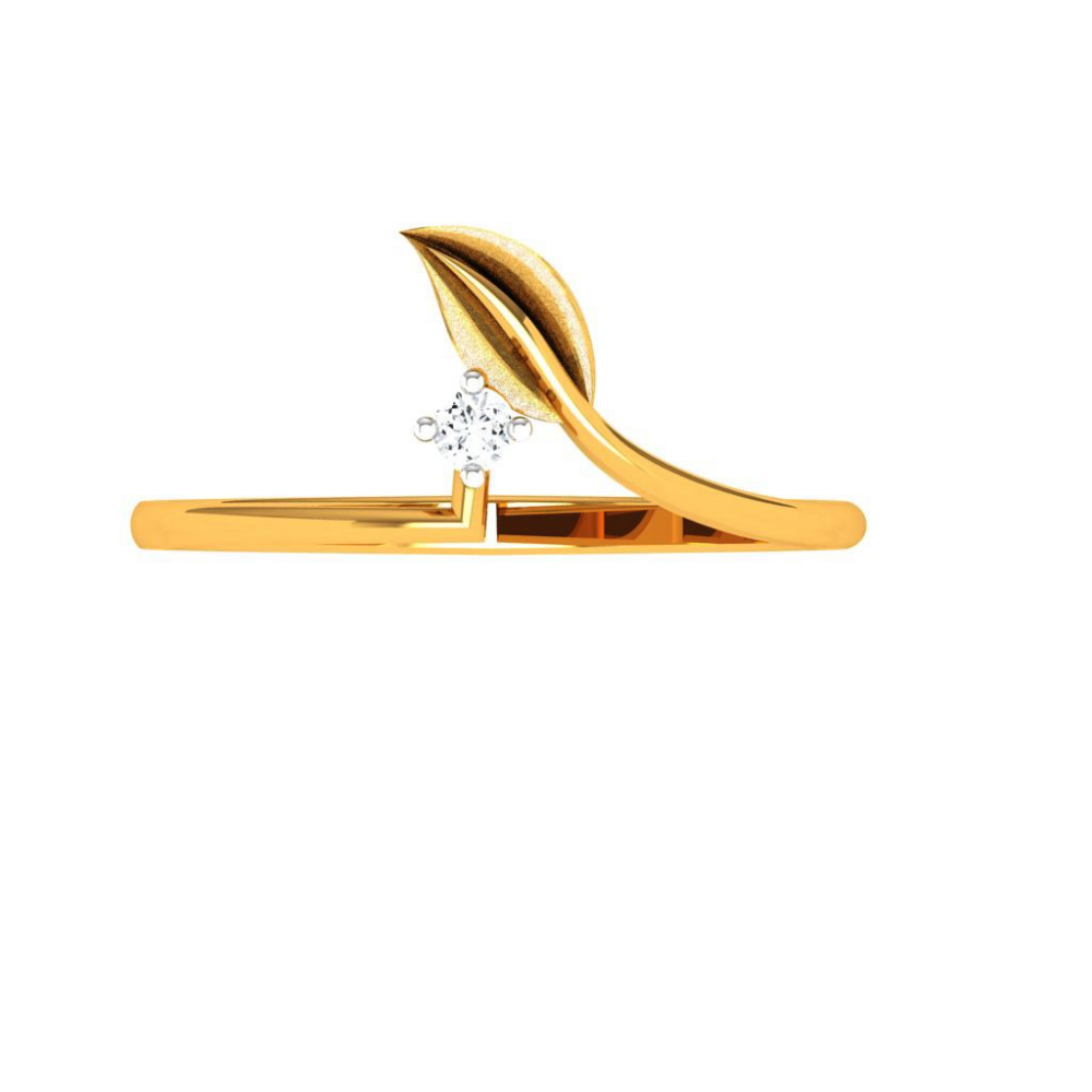 14KT (585) Yellow Gold Ring for Woman