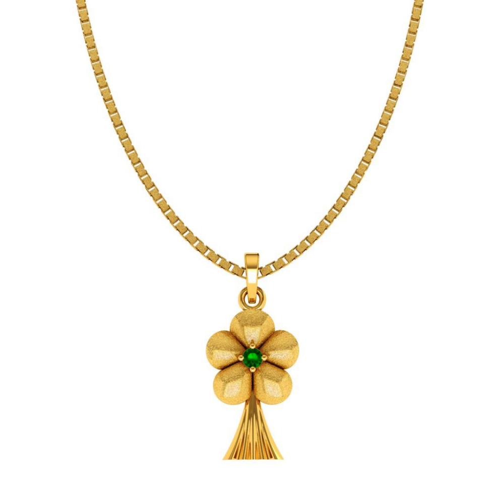 14KT (585) Yellow Gold Pendant for Woman