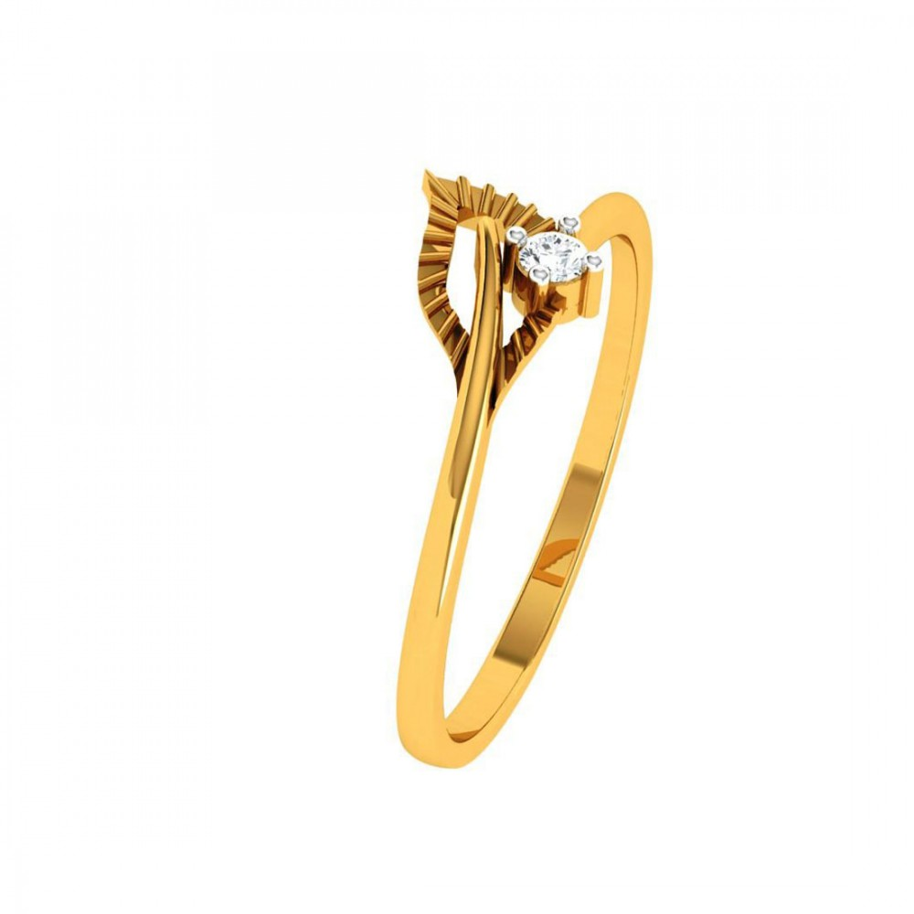 22KT (916) Yellow Gold Ring for Woman