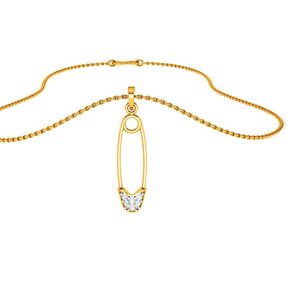 22KT (916) Yellow Gold Pendant for Woman