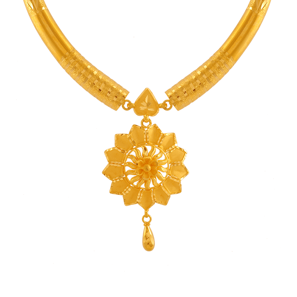 22KT Yellow Gold Necklace for Women