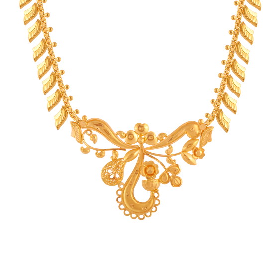 22KT (916) Yellow Gold Gold Necklace for Women