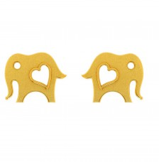 22KT (916) Yellow Gold Earring for Woman